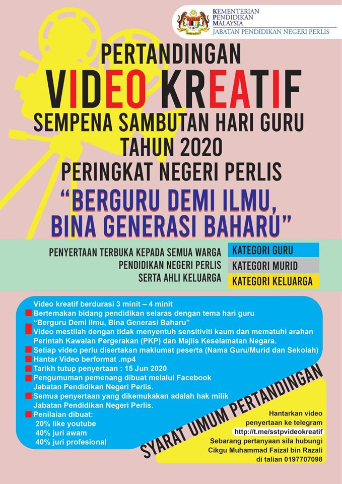 pertandingan video kreatif